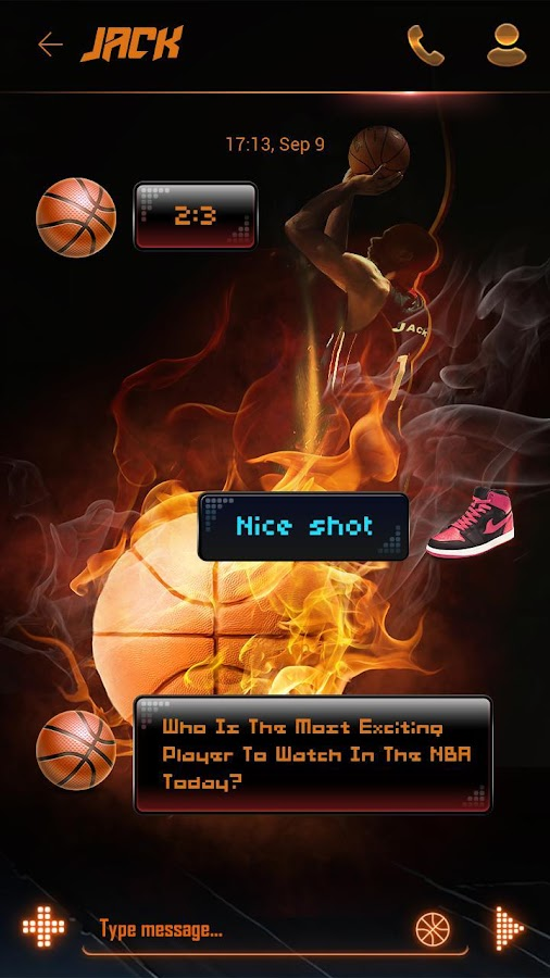 free go sms basketball theme android apps on google play