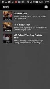 Grand Ole Opry- screenshot thumbnail