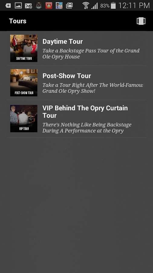 Grand Ole Opry- screenshot