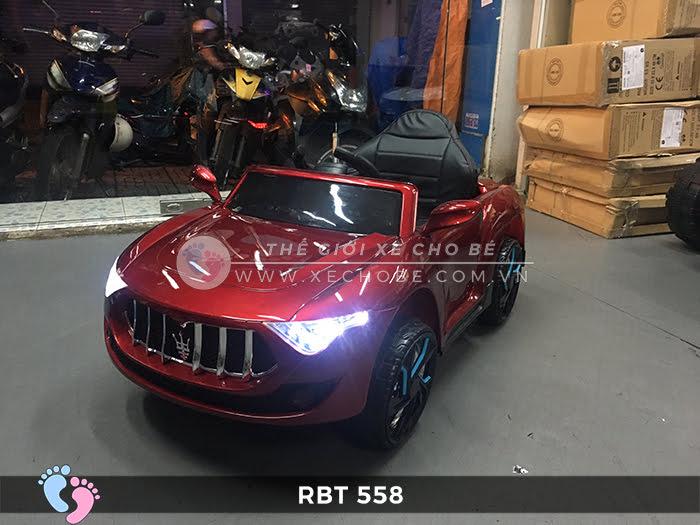 Xe hơi điện đồ chơi trẻ em RBT-558 5
