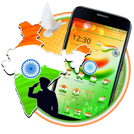 indian independence day Theme 2D
