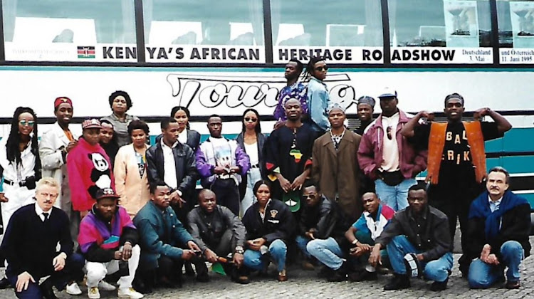 Kenya's Africa Heritage roadshow, which traveled through Germany and Austria in 1995, the largest travelling event to come out of Kenya