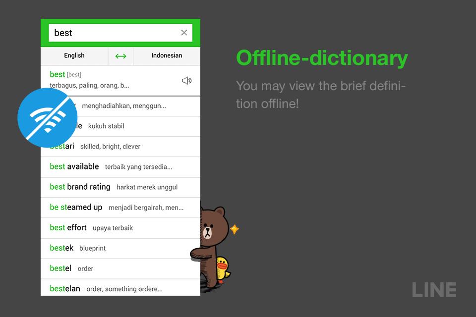 Line kamus inggris offline aplicaciones android en google play line kamus inggris offline captura de pantalla malvernweather Images