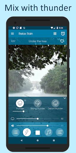Relax Rain - Rain sounds: sleep and meditation screenshot