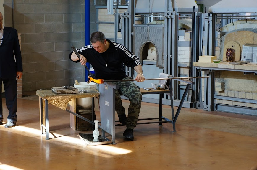 Glassblowing in Murano, Italy (2015) - II