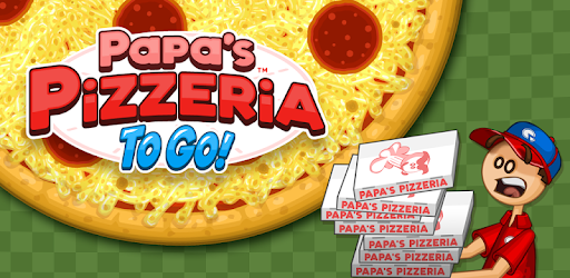 Top, bake, and serve pizzas in Papa's Pizzeria To Go!