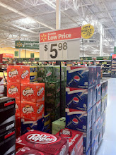 Photo: WOW Pepsi is on a roll! I had not even made it through the entrance and they had another display. This 24 pack was perfect forour vacation this weekend and at that price it was an easy choice!