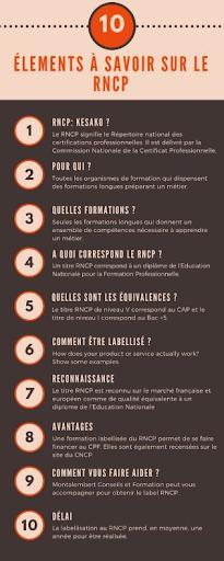 10 éléments à connaître sur le RNCP