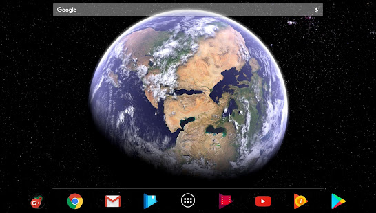 App Earth & Moon in HD Gyro 3D Parallax Live Wallpaper APK for Windows Phone