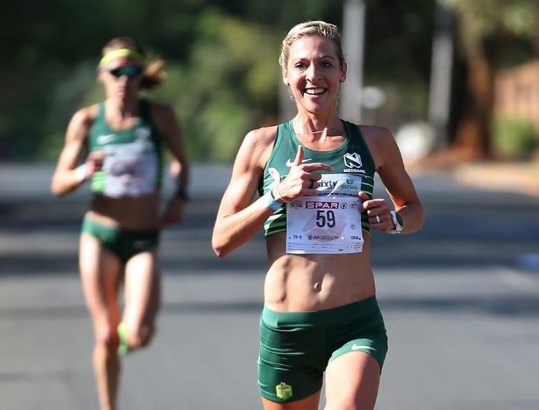 Gerda Steyn breaks 25-year-old SA marathon record