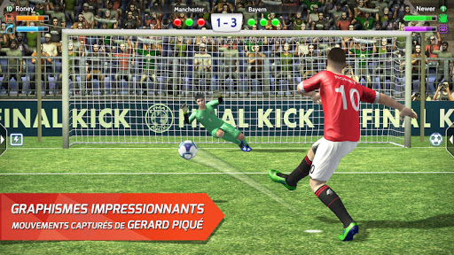 Télécharger Final Kick 2018: Football en ligne  APK MOD (Astuce) screenshots 1