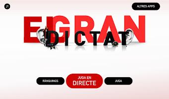 Screenshot of El gran dictat