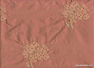 Photo: Mysore 22 - Rainforest Series Embroidery - Coral