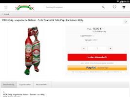 Screenshot of Feinkost aus Ungarn