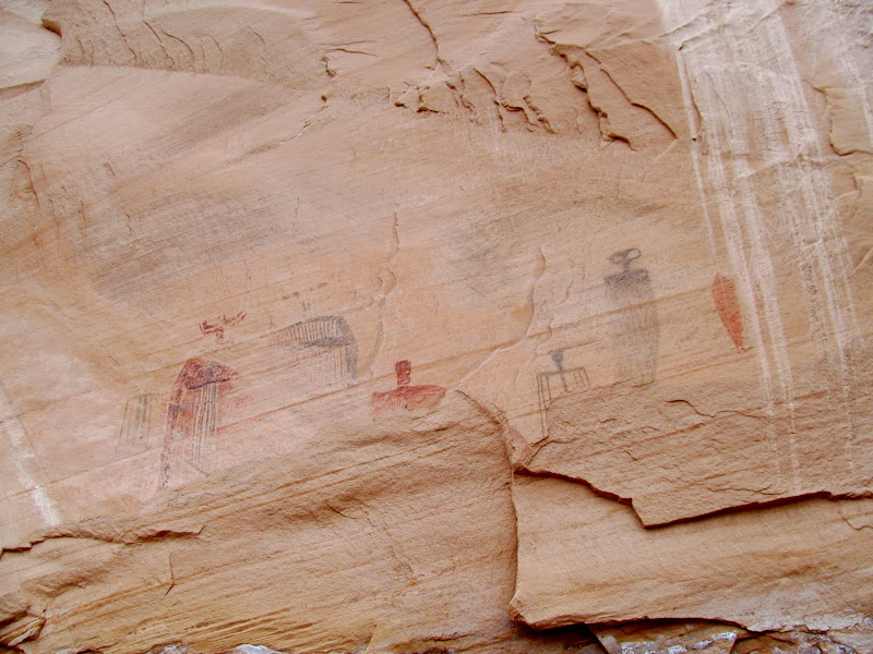 Photo: Bartlett Flat pictographs