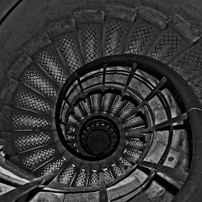 Spiral  by Wilson Beckett - Black & White Buildings & Architecture (  )