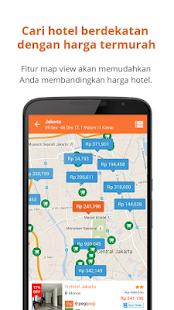 Pegipegi Hotel Train Flight Screenshots
