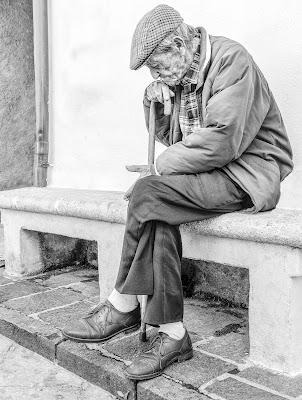 """Solitudine da """"anziani"""" di Diana Cimino Cocco"""