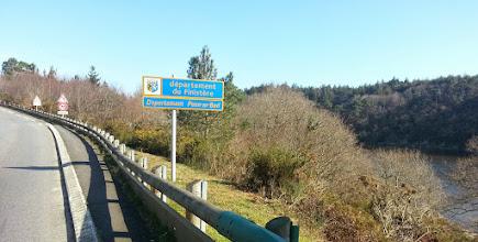 Photo: Arrivée dans le Finistère