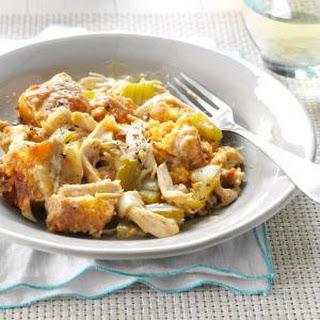 Chicken Corn Bread Casserole