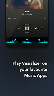 Muviz - Navbar Music Visualizer: miniatura da captura de tela
