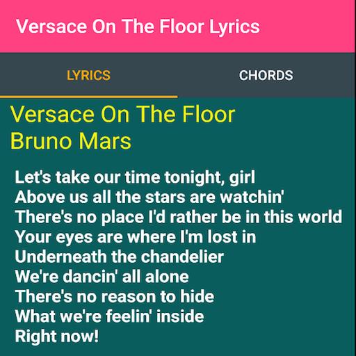 Versace On The Floor Lyrics - Aplikasi