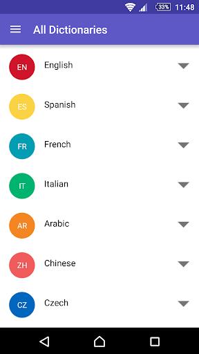 WordReference.com dictionaries Screenshot