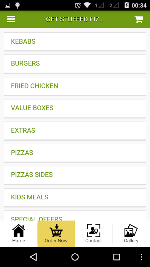 Get Stuffed Pizzas n Kebabs- screenshot
