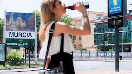 Murcia está sufriendo estos días altas temperaturas que han puesto a la Región en el nivel 2 de alerta.