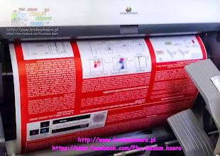 Photo: wydruk wielkoformatowy - usługa realizowana na poczekaniu. Drukujemy na papierach od 70g do 300g/m. Rodzaj papieru do druku ustalamy z klientem przed realizacją usługi.
