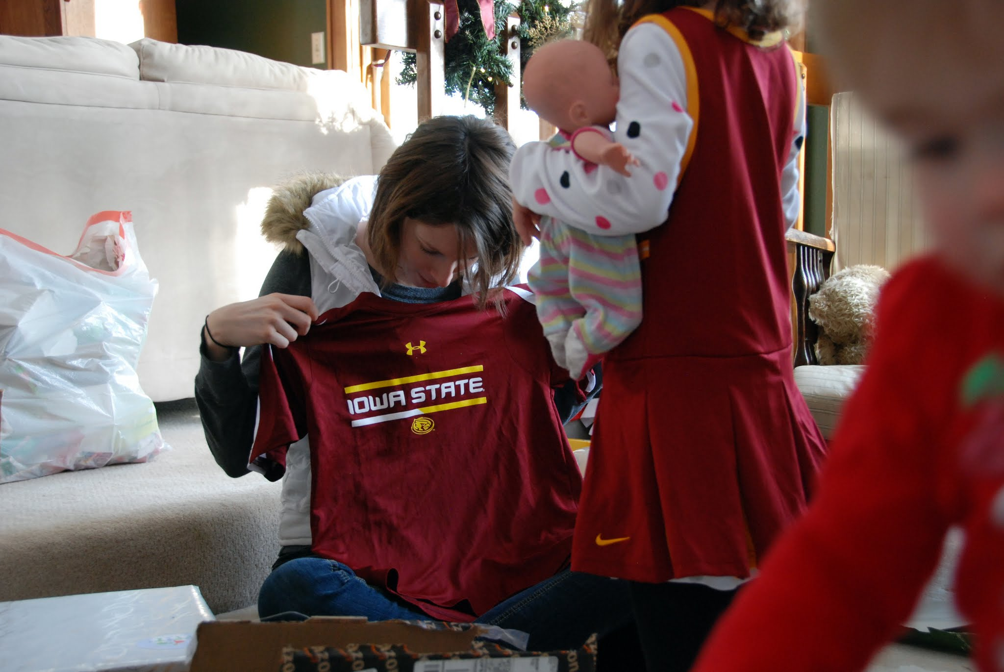 Photo: You got a new Cyclone shirt too!