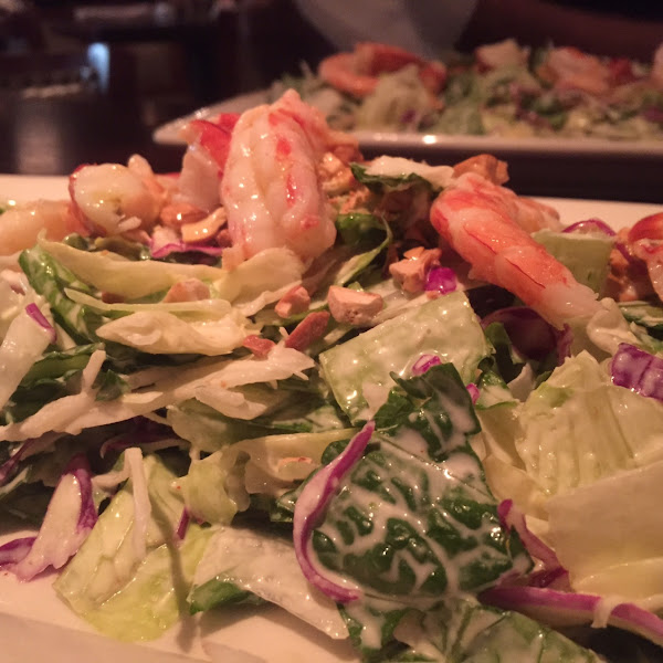 Lobster and shrimp salad