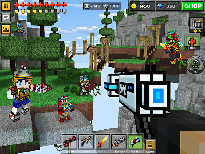 Pixel Gun 3D Mod v10.0.9 APK+DATA - screenshot