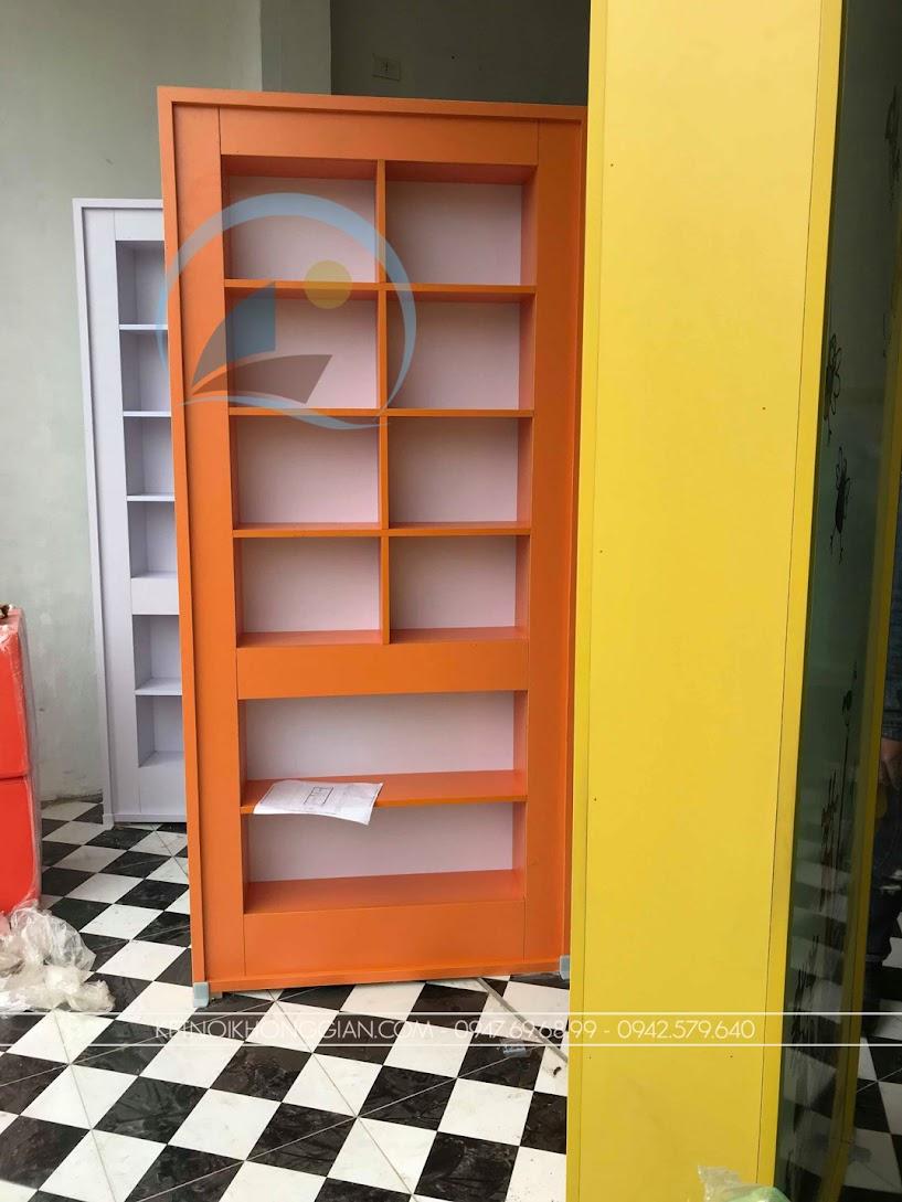 thiết kế và thi công nội thất nhà sách giá rẻ
