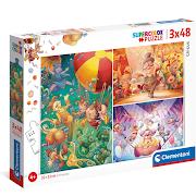 3 in 1 Children's Circus Puzzles