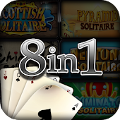 8 Free Solitaire Card Games