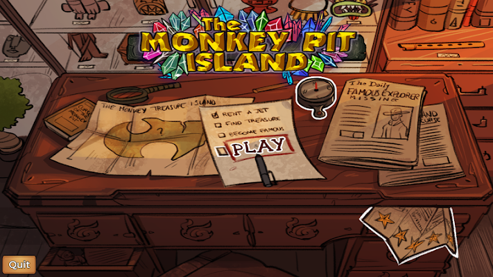 The Monkey Pit Island - Survive the treasure curse- screenshot