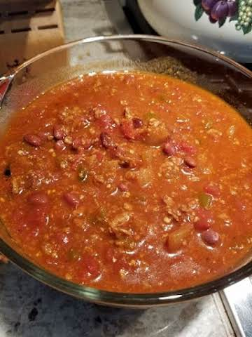 Vegetarian Chili to Fool a Meatlover