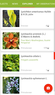 PlantNet Plant Identification- screenshot thumbnail