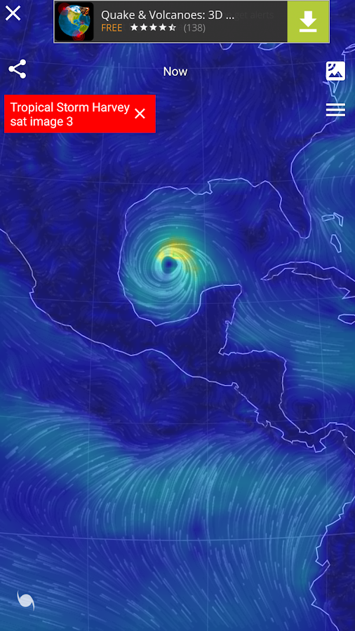 Wind Map 🌪 Hurricane Tracker (3D Globe & Alerts)- screenshot