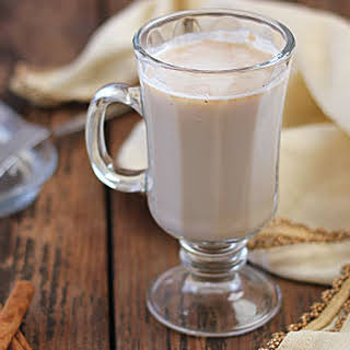 Creamy Hot Buttered Rum.