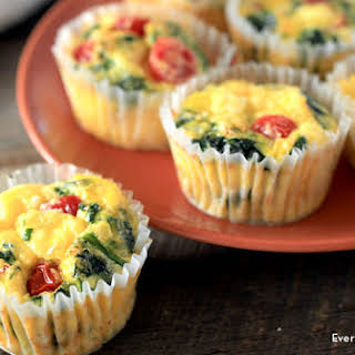 Spinach and Egg Muffins.