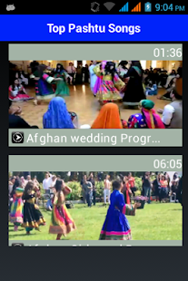 Top Pashtu & Afghani Songs- screenshot thumbnail