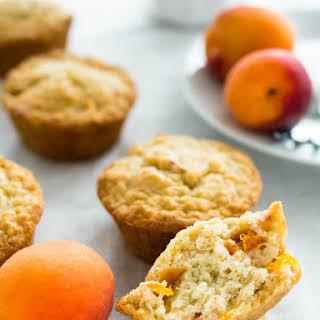 Skinny Oatmeal Apricot Muffins.
