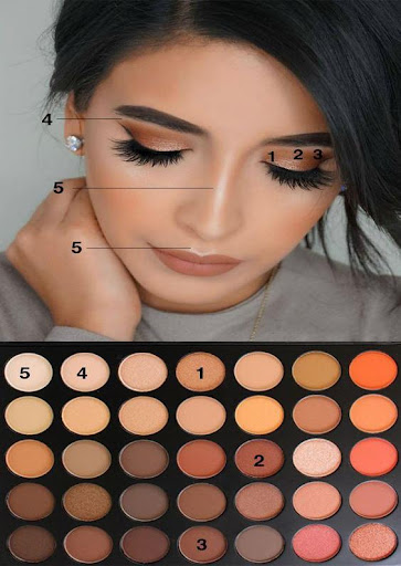 Makeup training (face, eye, lip) ud83dudc8eu269cufe0fu269cufe0f 4.0.3 screenshots 6