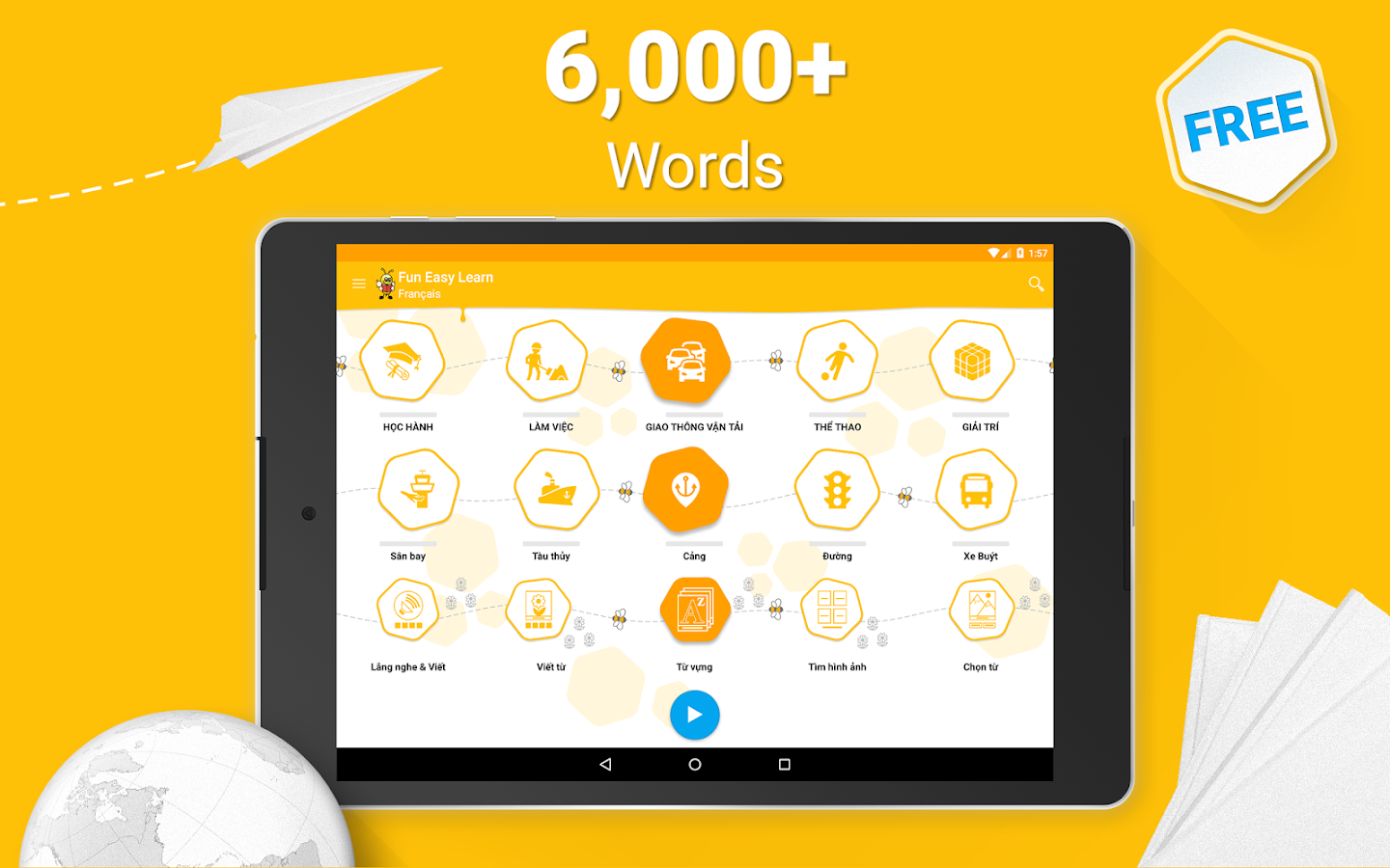 Learn French - 6,000 Words- screenshot