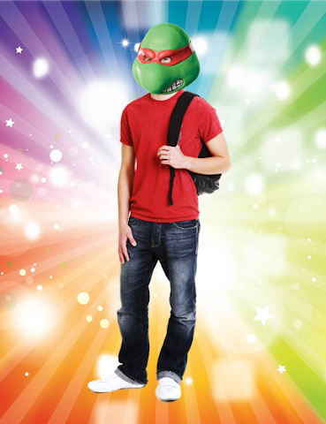 android Turtle Mask Photo Stickers Screenshot 0