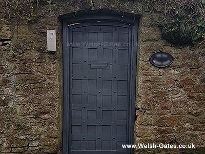Historic side gate