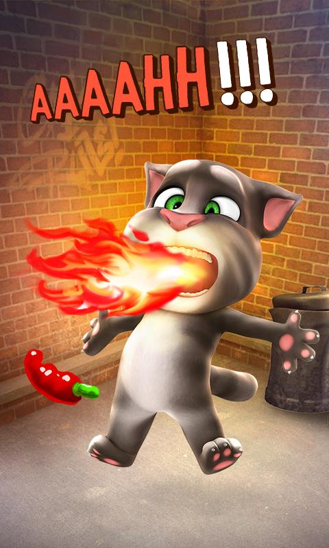 Screenshots of Talking Tom Cat for iPhone