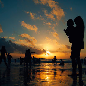 We Call That Sunset, Son by Hengki Lee - Landscapes Waterscapes ( sunset, landscape )